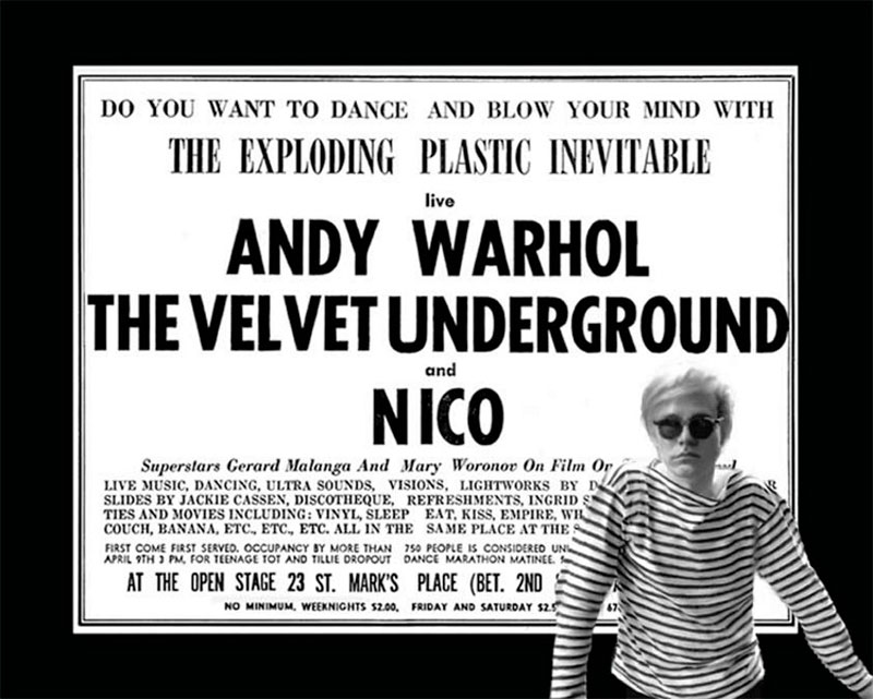 The Factory Alive! La música de Andy Warhol en Can Trinxet