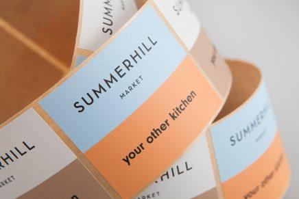 Calidez y modernidad para una boutique: Blok rediseña la identidad visual de Summerhill Market