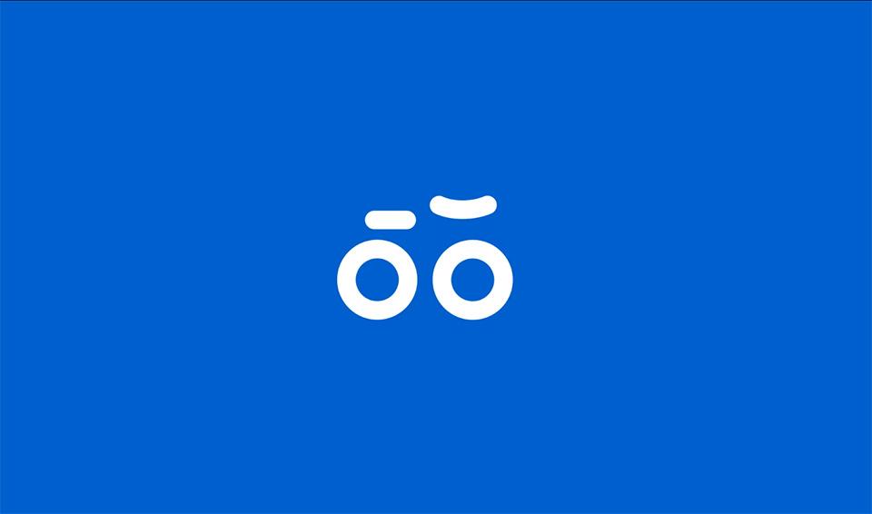 Logotipo animado Oslo Bysykkel 03