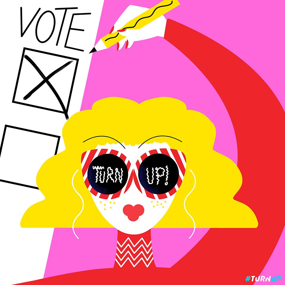 voto Ana Jaks, Campaña Turn Up