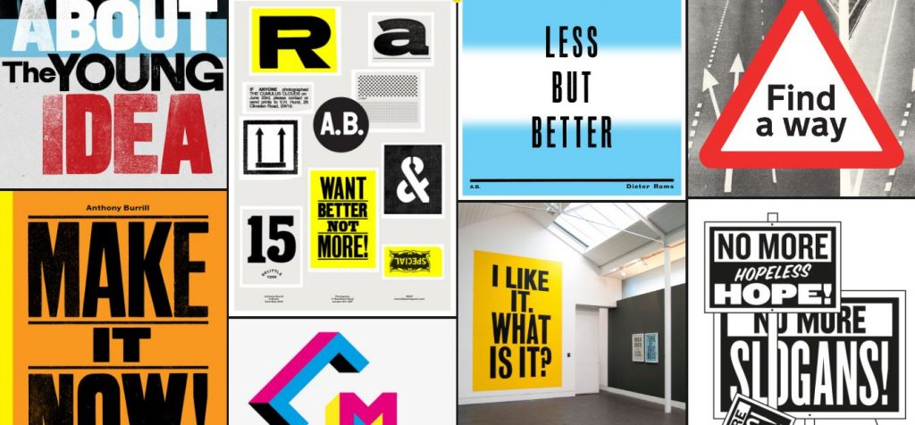 Anthony Burrill Intagram