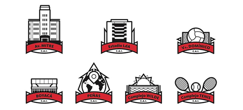 branding Club Atlético Independiente iconos 002