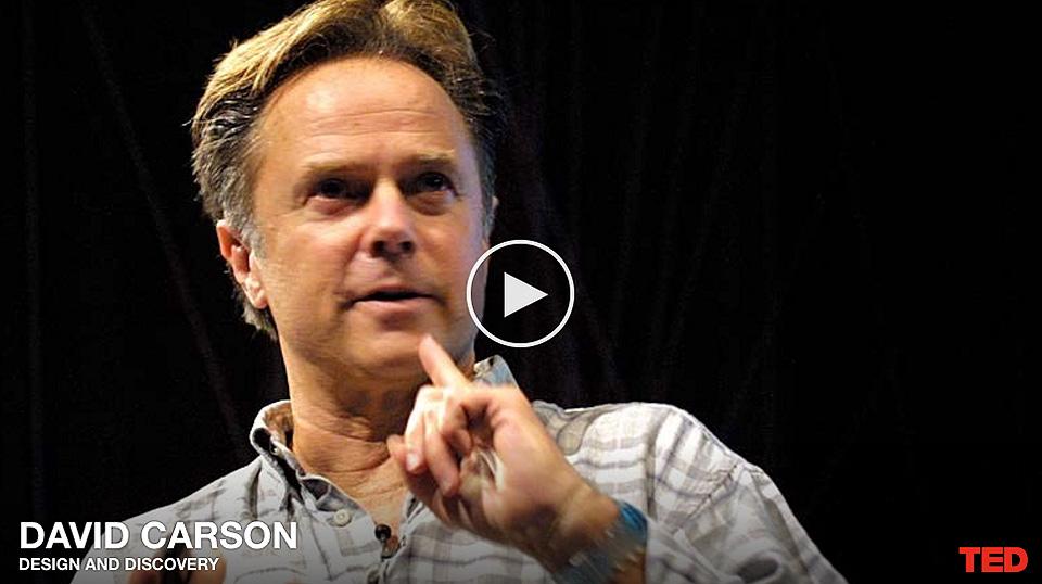David Carson Diseño y Descubrimiento TEDPantallazo 02