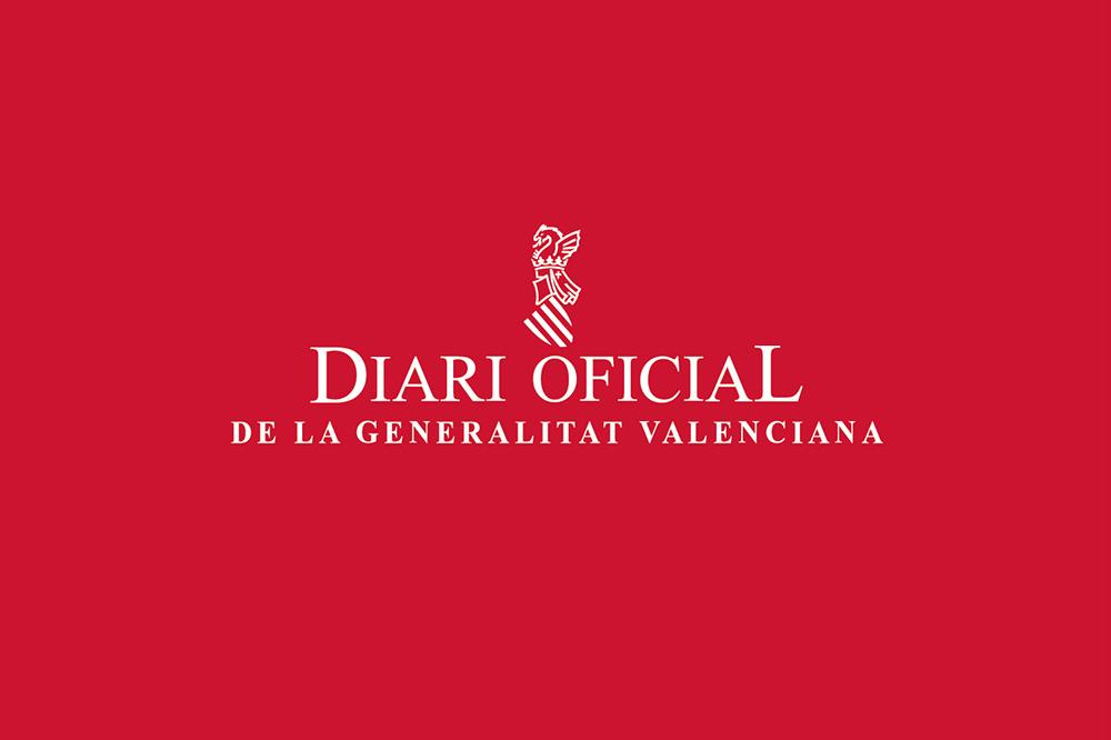 rediseño DOGV logo tradicional