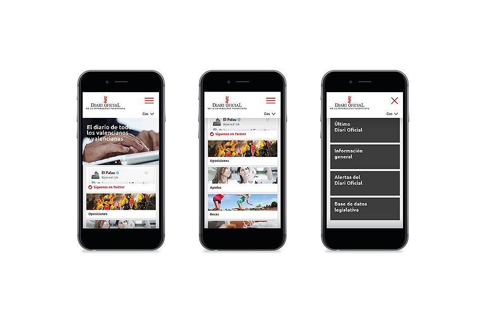 rediseño DOGV en pantalla de móviles 3