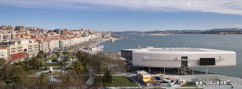 Centro Botín - Edificio 2 vista al mar