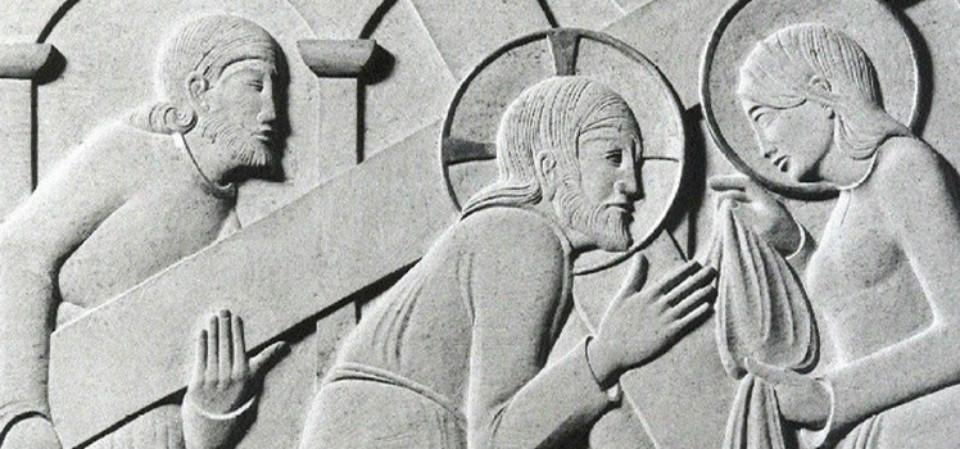 Tallado en piedra de Eric Gill