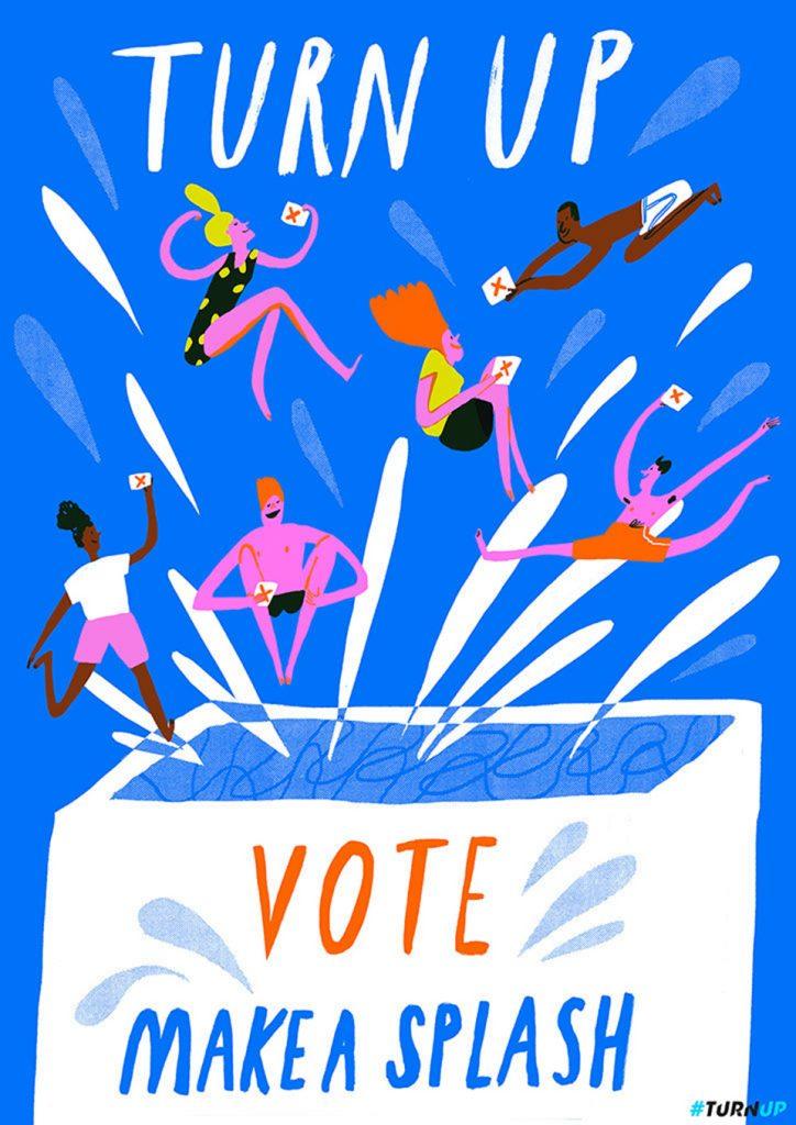 voto Hannah Warren campaña turn Up