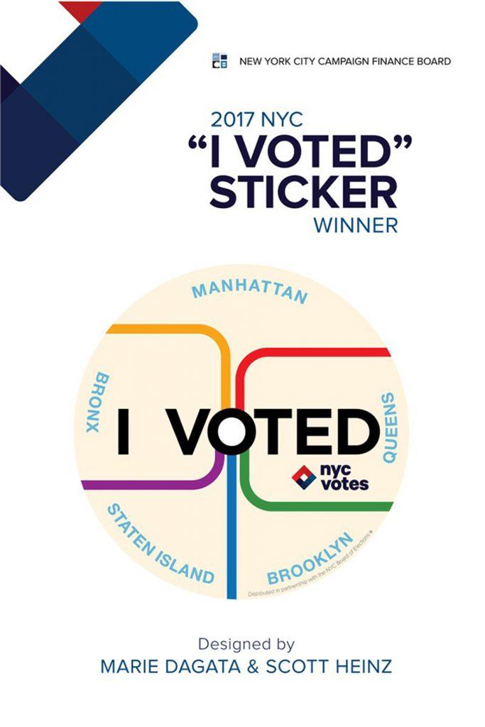 Concurso voto I Voted diseño ganador