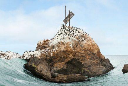 Laura Plageman desfigura paisajes y crea auténticas obras de arte