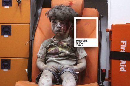 Colores Pantone que denuncian la crisis de los refugiados