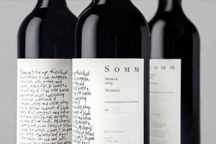 Un packaging de vino basado en la libreta del sumiller