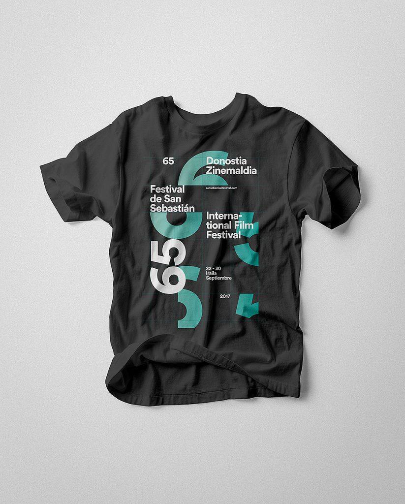 Festival San Sebastián 2017 Camiseta 003