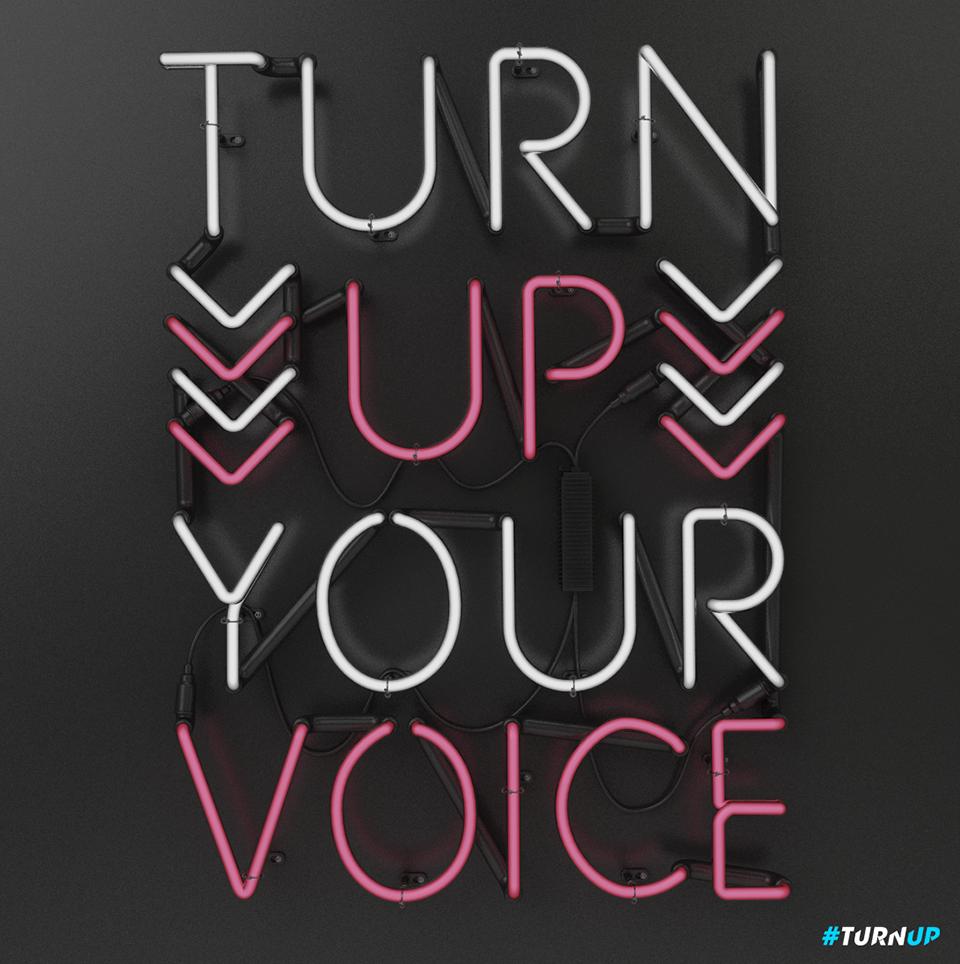 Thomas Burden diseño para Turn Up