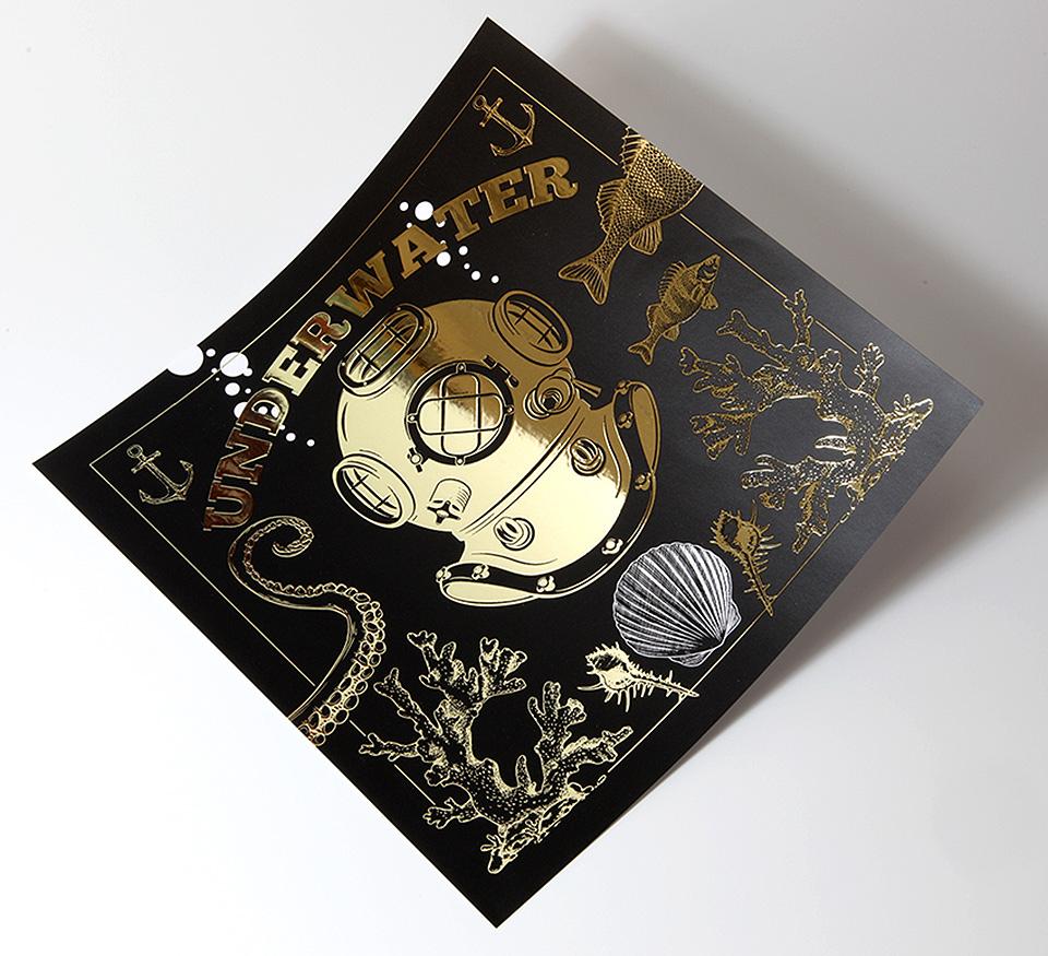 tintas y acabados creativos estamping oro Truyol digital 03