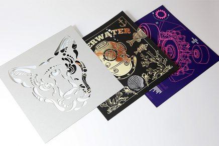 Cuando las técnicas de impresión tradicionales no bastan, prueba con tintas y acabados creativos
