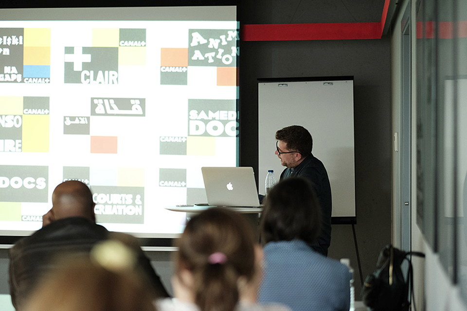 masterclass TV Branding Ricardo Fernández en la presentación