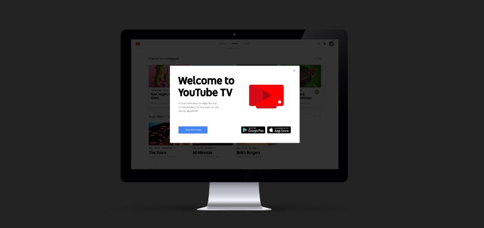 YoutubeTV, el nuevo producto de Youtube que permite ver la televisión en directo