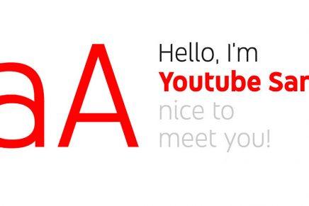 Youtube Sans, la tipografía que acompaña a Youtube TV como elemento de diferenciación