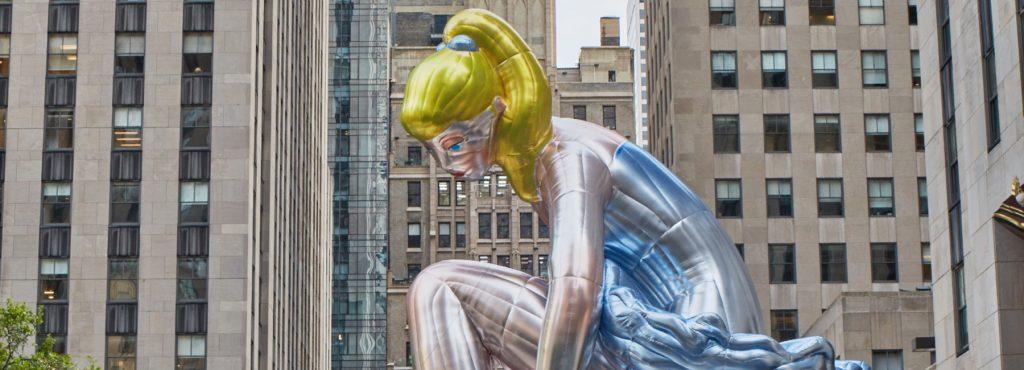 Jeff Koons Bailarina sentada 1