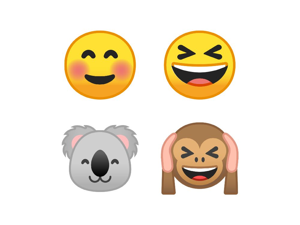 emojis android 10