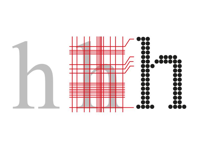 Técnica de Grid Warping o deformación de la rejilla: los píxeles crecen o disminuyen cuando se coloca la letra encima para que el resultado sea óptimo