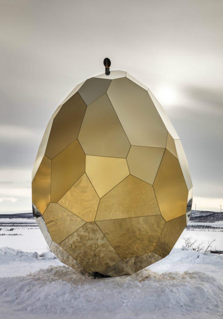 Solar Egg, la obra de Bigert y Bergström