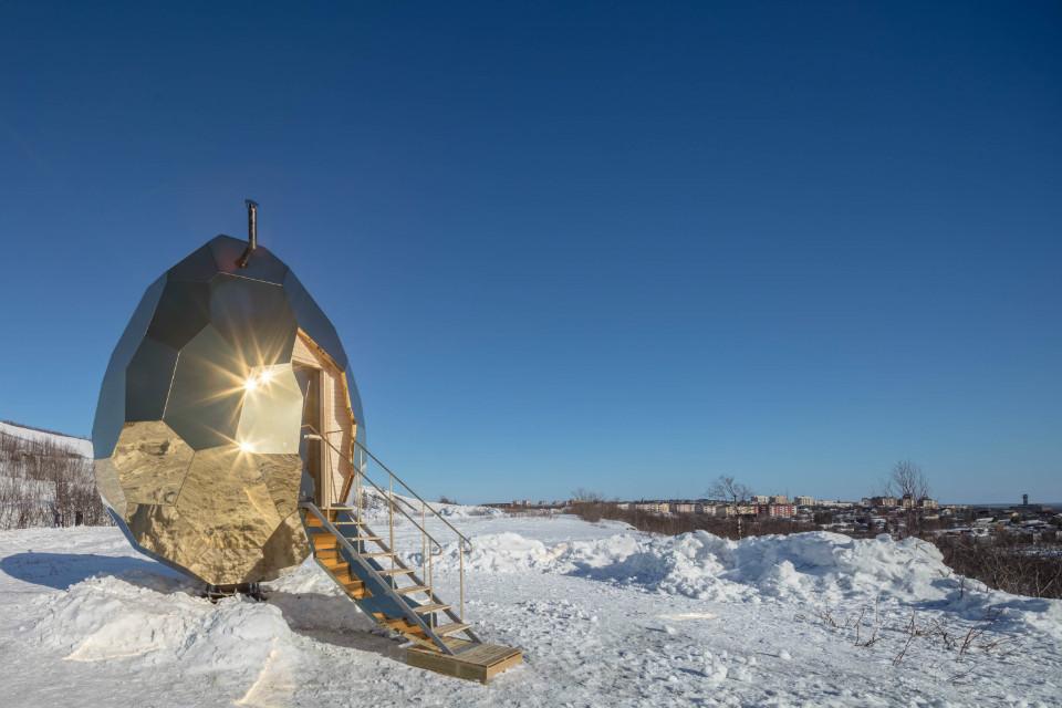 Solar Egg, forma parte de un proyecto de transformación urbana de Kiruna