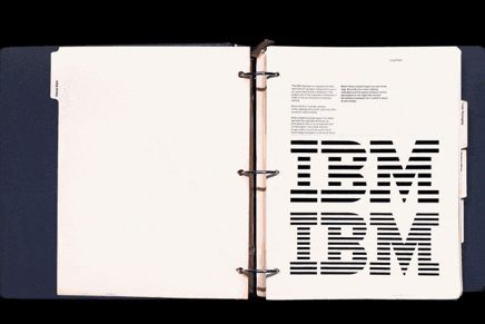 Reeditan el manual de identidad corporativa de Paul Rand para IBM
