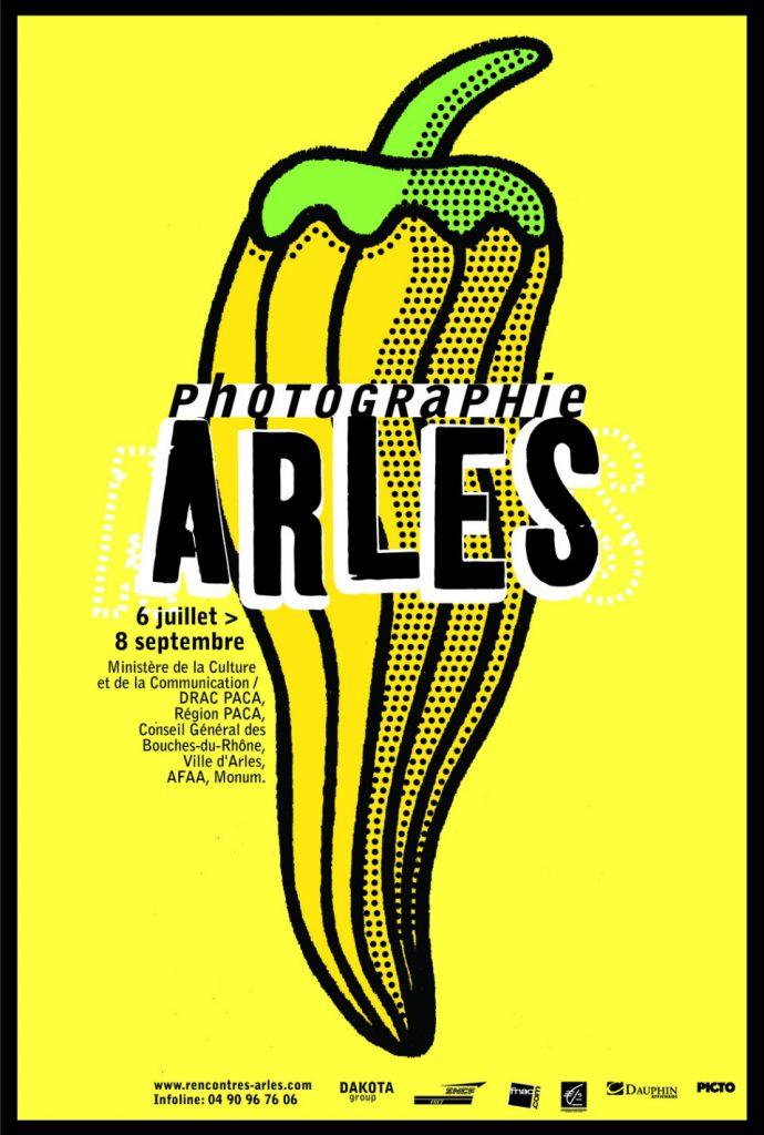 Cartel de Michel Bouvet para un evento fotográfico
