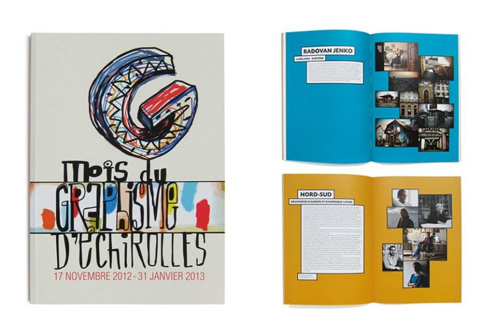Diseño editorial por Michel Bouvet