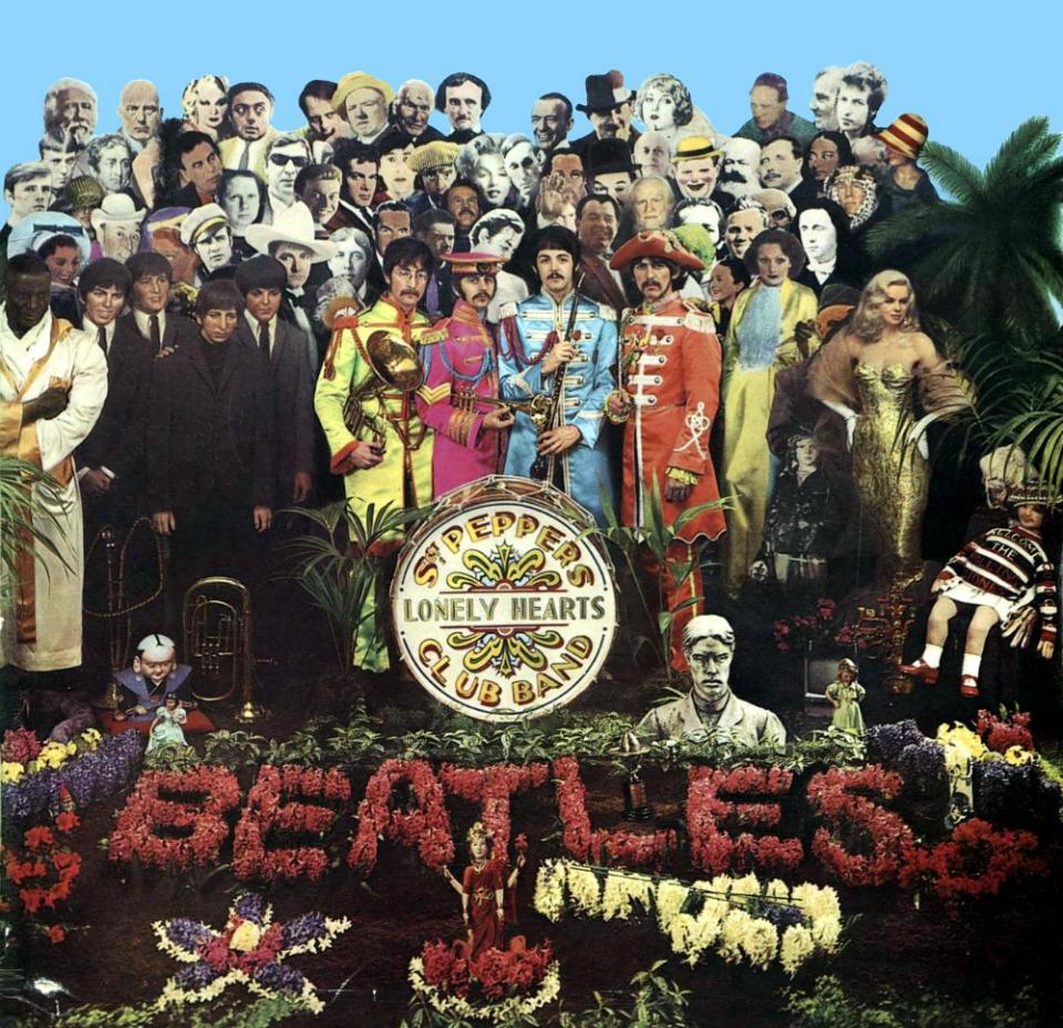 portada beatles - Portada del álbum 'Sgt. Pepper's Lonely Hearts Club Band'