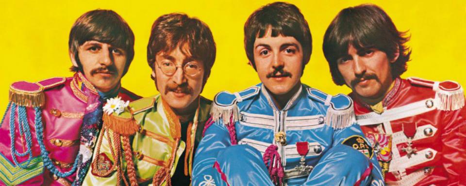 Retrato de la banda inglesa 'The Beatles'