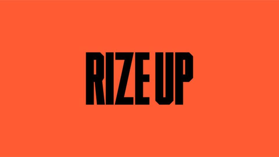 Diseño campaña voto Rize Up