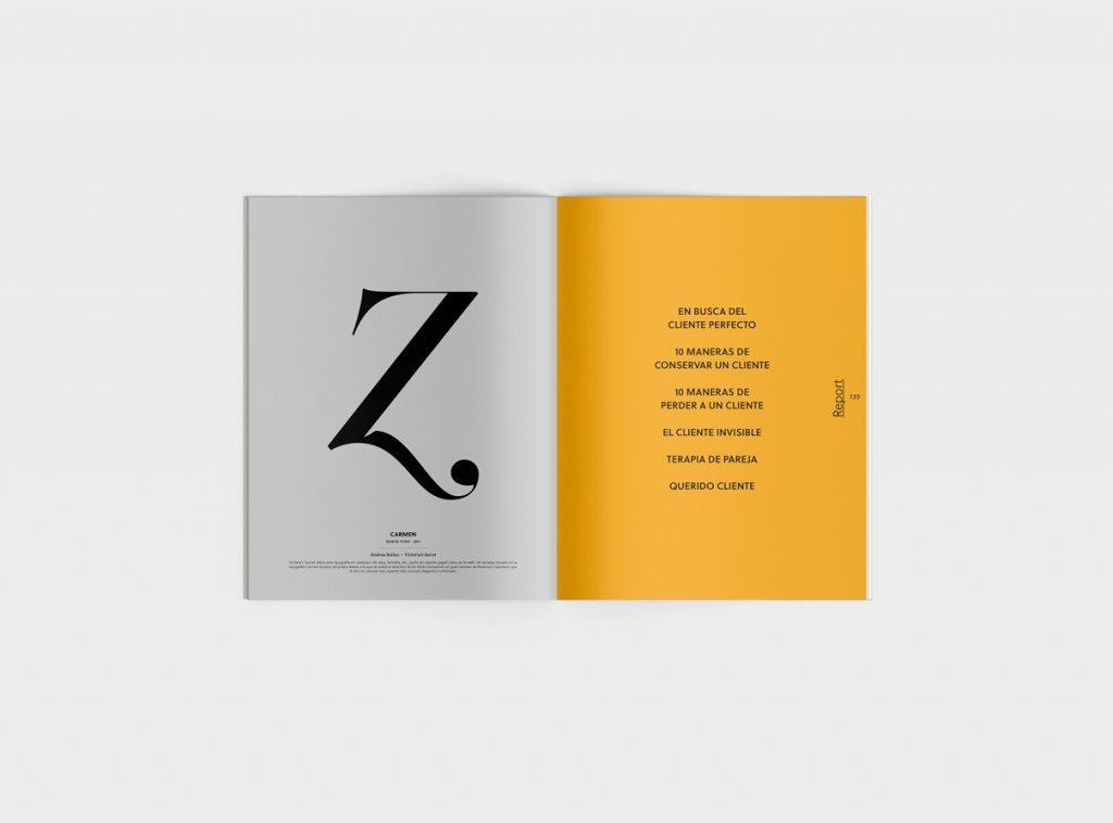 Número 6 de la revista Gràffica. Clientes y Creativos. Destinados a entenderse - galería de tipos