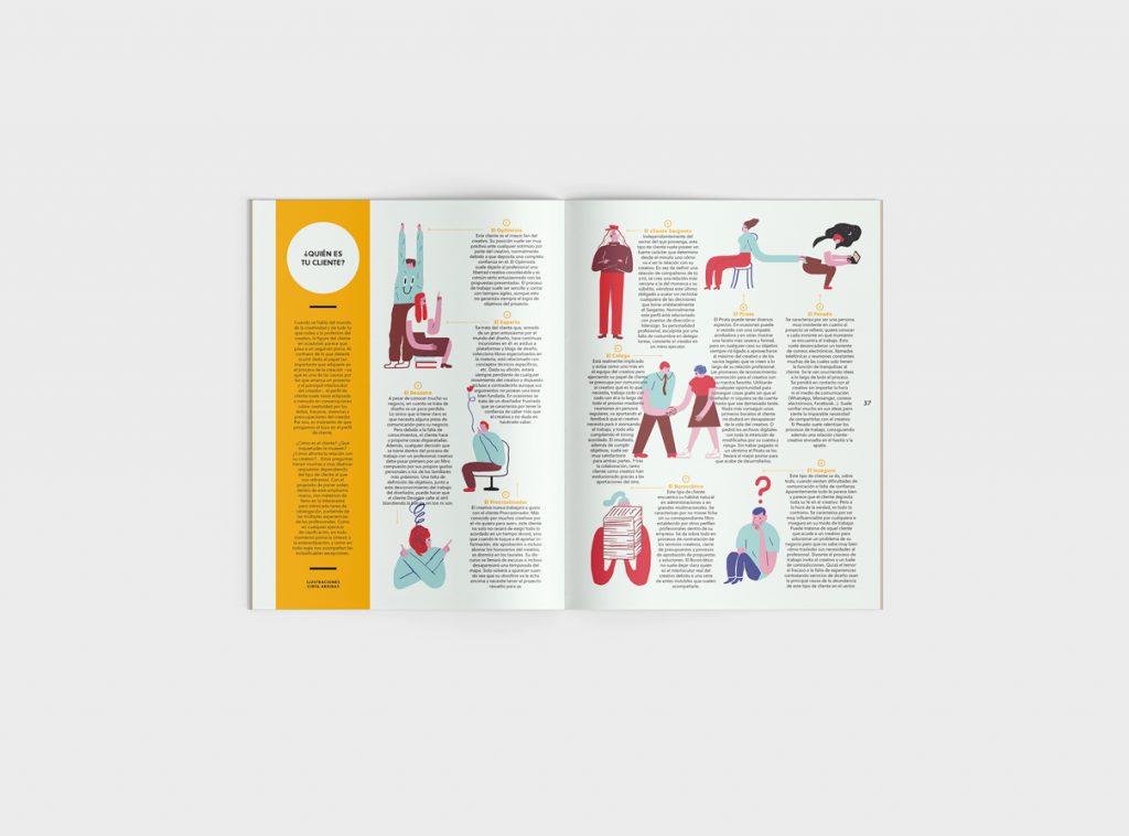Número 6 de la revista Gràffica. Clientes y Creativos. Destinados a entenderse - tipos de clientes