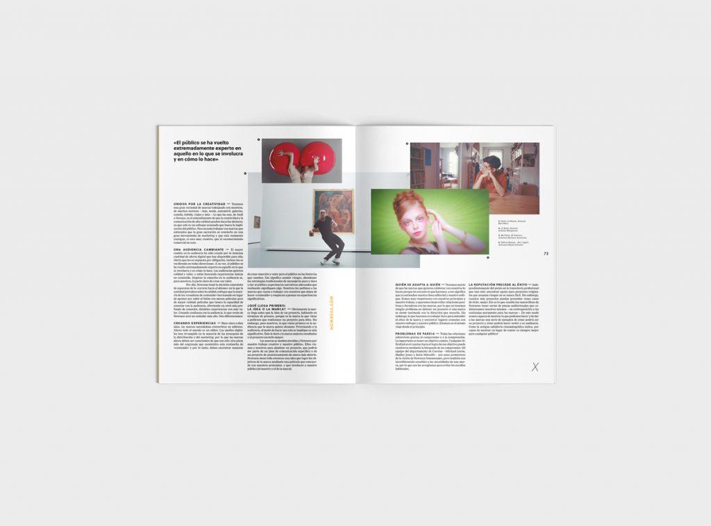 Número 6 de la revista Gràffica. Clientes y Creativos. Destinados a entenderse - entrevista Anna Higgs