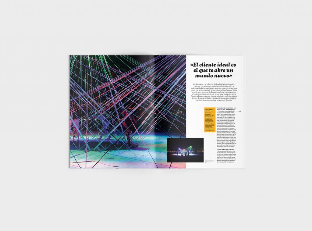 Número 6 de la revista Gràffica. Clientes y Creativos. Destinados a entenderse - Basurama