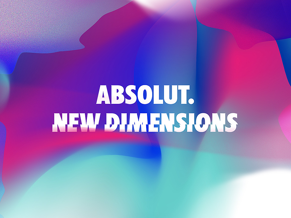 AbsolutNewDimensions cartel promocional