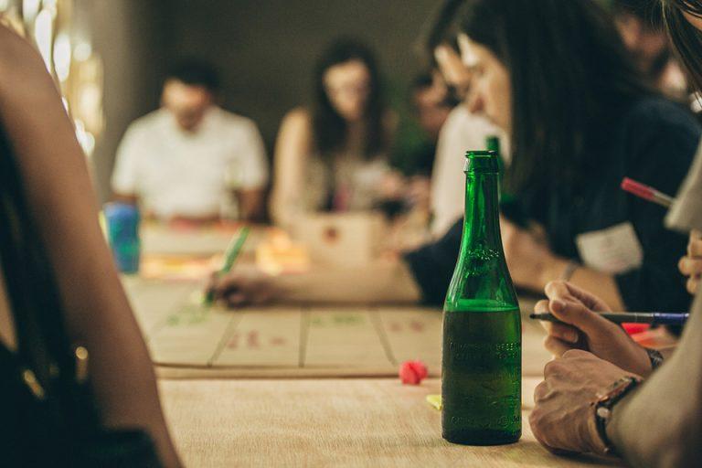 Cervezas Alhambra Para Mira Toca botella verde 5