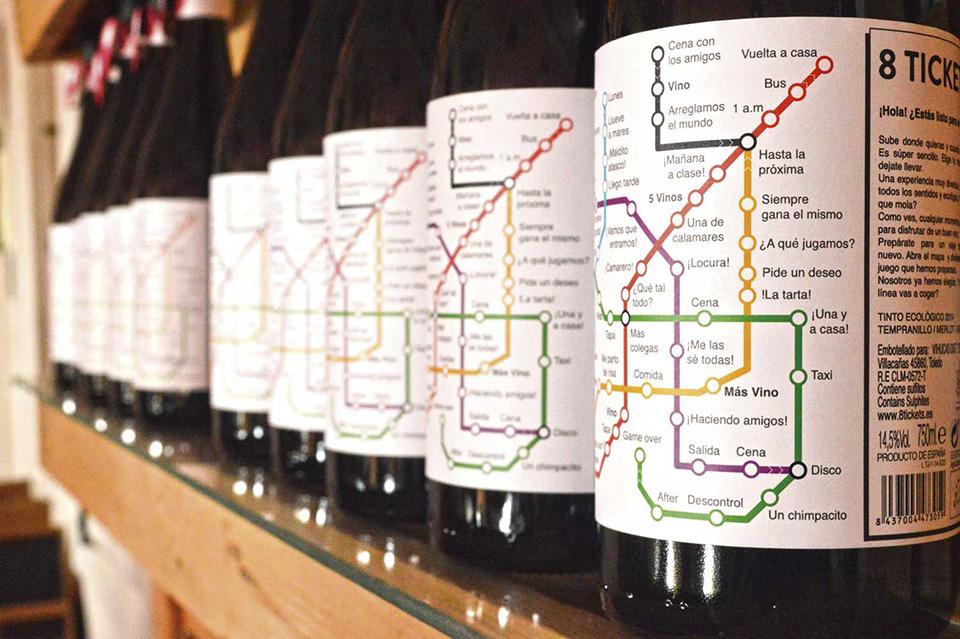Botellas 8 tickets 1
