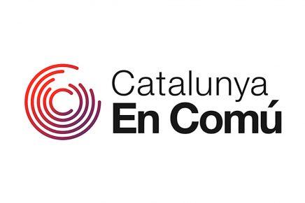 El nuevo logo de Catalunya en Comú no se escapa de la tendencia ombré