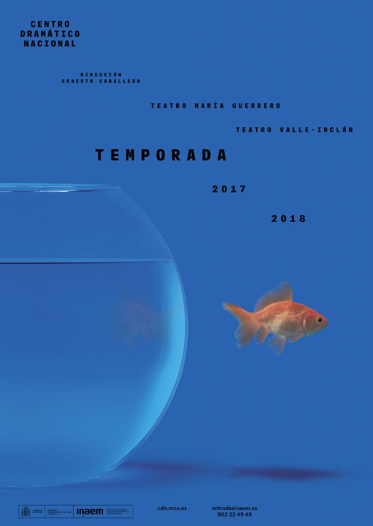 imagen Centro Dramatico Nacional por Javier Jaén cartel pto.1