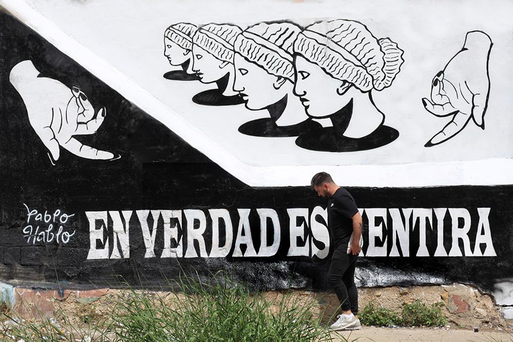 mural Pablo hablo