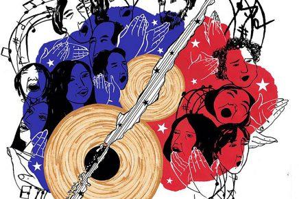 El nervio óptico de la ilustración editorial