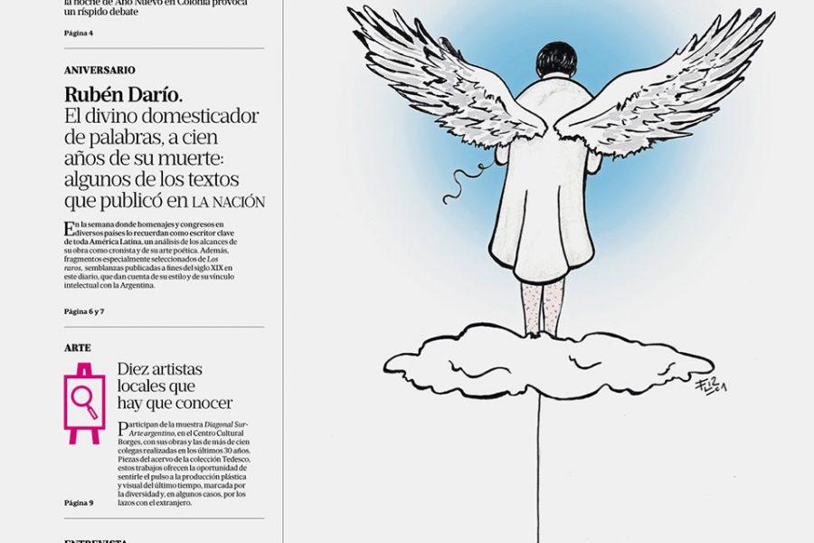 Ilustracion Editorial ángel 4