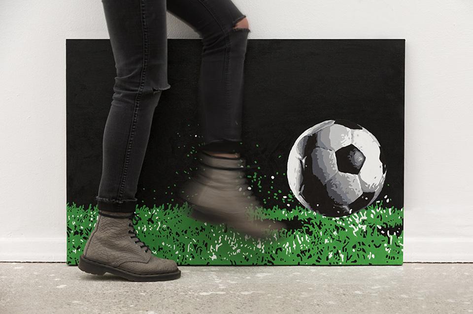 instalación interactiva fútbol 6