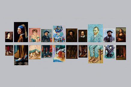 Las mejores pinturas de todos los tiempos enseñan los pies: así es la campaña 'Portraits Completed'