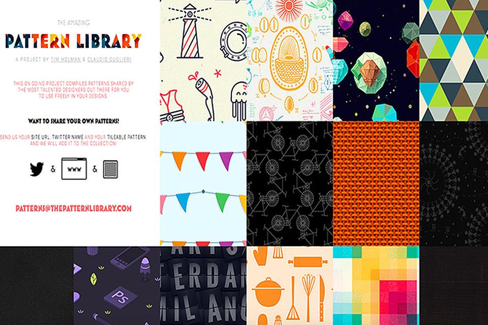Descubre esta gigantesca librería gratuita de patrones de diseño