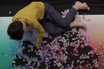 ¿Serías capaz de montar un puzzle de 5.000 piezas CMYK?
